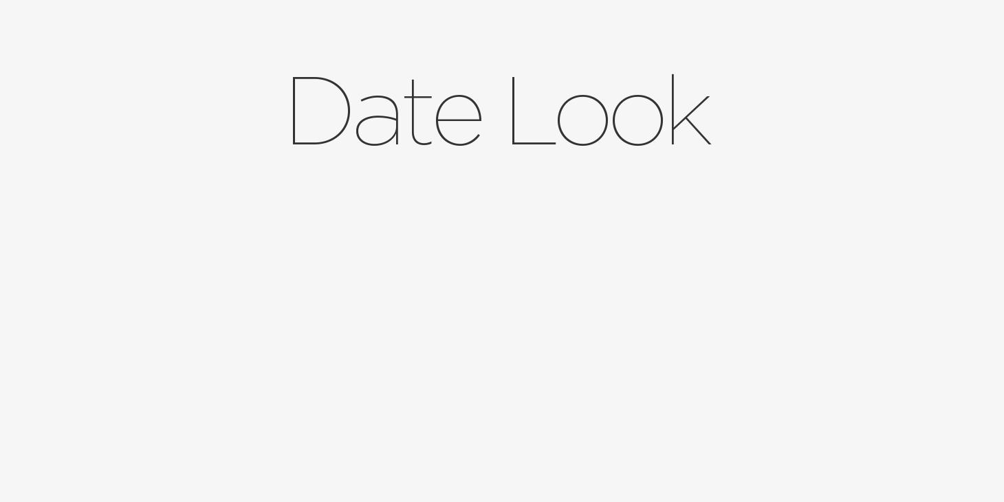 Date Look