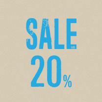 2017 SEASON SALE 20%