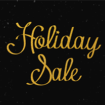 Holiday Sale save up to 30%