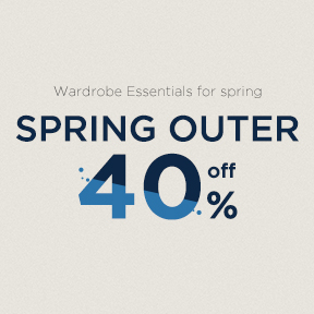 Spring Outer 40% off