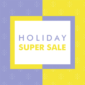 HOLIDAY SUPER SALE ~77%