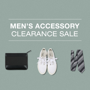 MEN'S ACCESSORY up to 80% off