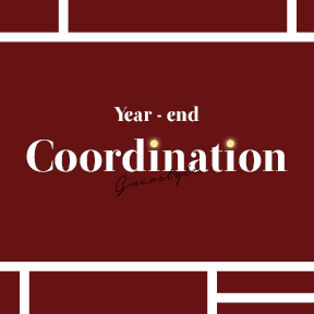 2018 year - end | Coordination
