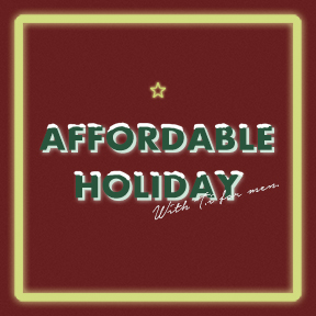 LET'S AFFORDABLE HOLIDAY