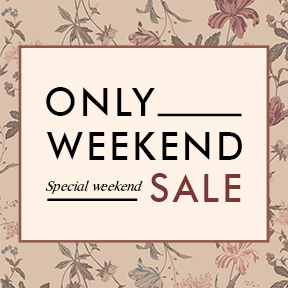 ♡ONLY WEEKEND SALE♡