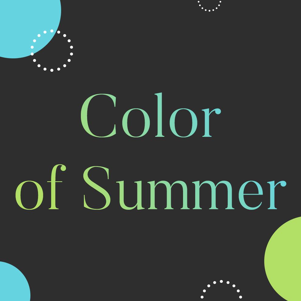 [컬러에 반하다] 일상을 컬러풀하게 물들이는 법! Color of Summer