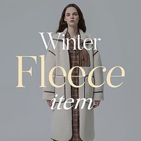 본격적인 Winter, 이제는 필수 FLEECE