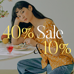 2021'SPRING | 4 0 % SALE & ◆1 0% Coupon