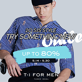 T.I FOR MEN OUTLET up to 80%