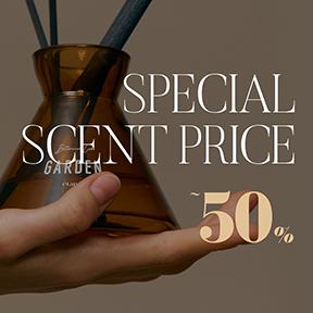 SPECIAL : Price, Secent ~ 5 0 %