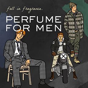 PERFUME  FOR MEN! ▶ 21F/W 신상품 출시 기념 수트 퍼퓸 증정