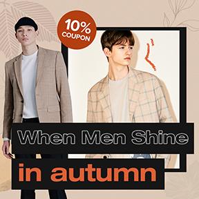 When Men Shine in Autumn [이월상품10%★]
