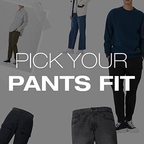 PANTS FIT FOR MEN